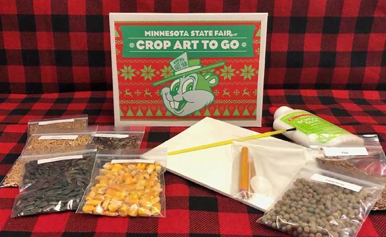 Holiday Crop Art To Go Kit