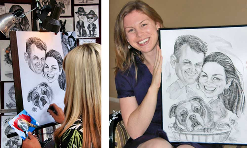 Caricatures by Cindy