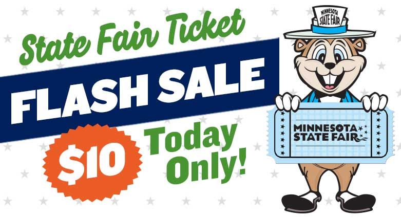 State Fair Ticket FLASH SALE Today Only