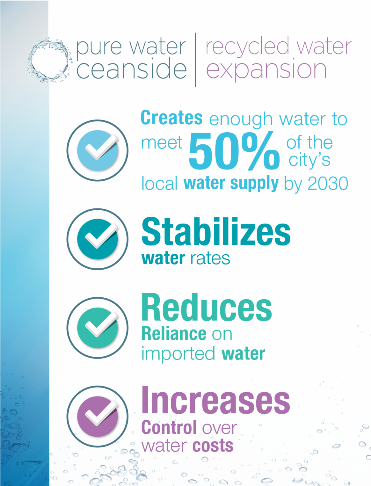 Pure Water Oceanside and Recycled Water Has Many Benefits