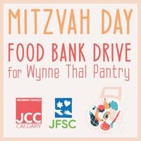 mitzvah day food bank drive