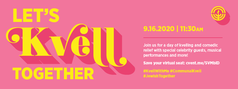 let's kvell together