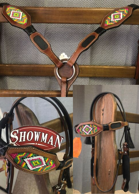 Matching Headstall and Breast Collar