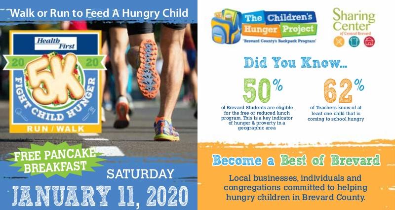 HEALTH FIRST FIGHT CHILD HUNGER 5K JAN 11 2020 5K