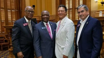 Former 3rd Congressional District Congressman Lynn Westmoreland is newly minted with GA Dept of Transportation