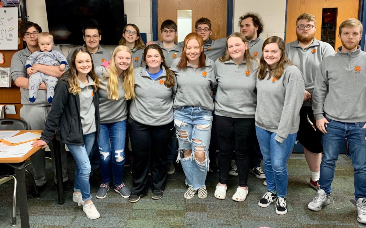 WHS Academic Quiz Team 2019-20