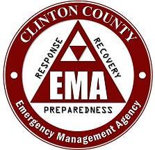 clinton county emergency management logo