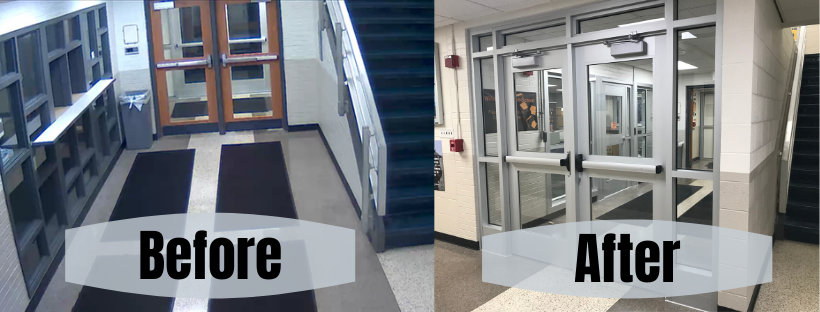WHS before and after photo collage