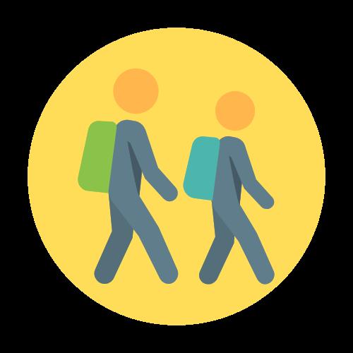 Yellow zone icon