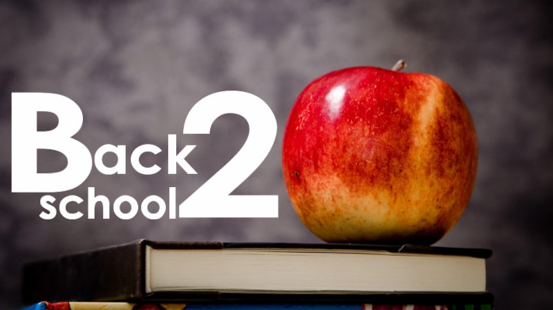 link to back to school information web page