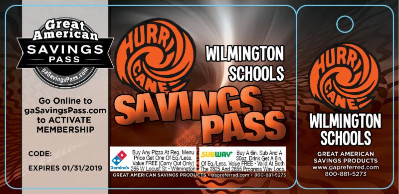 Savings pass picture