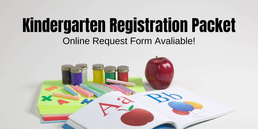 link to google form to request kindergarten packet