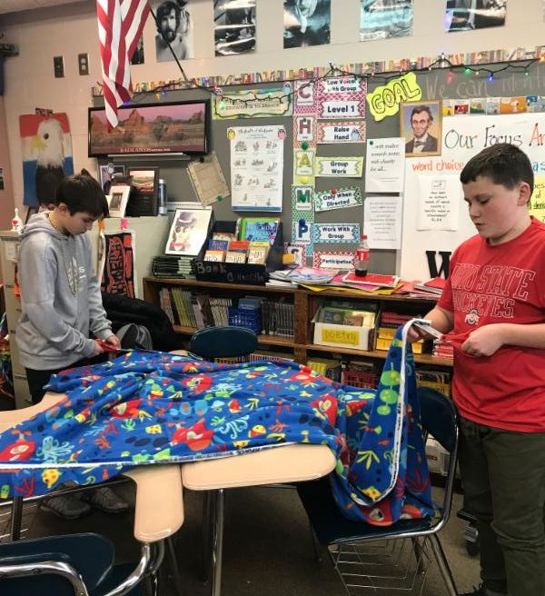 Project Linus blanket making