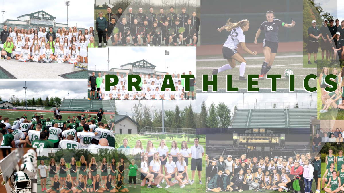 Collage of Current Sports Teams with PR Athletics Title