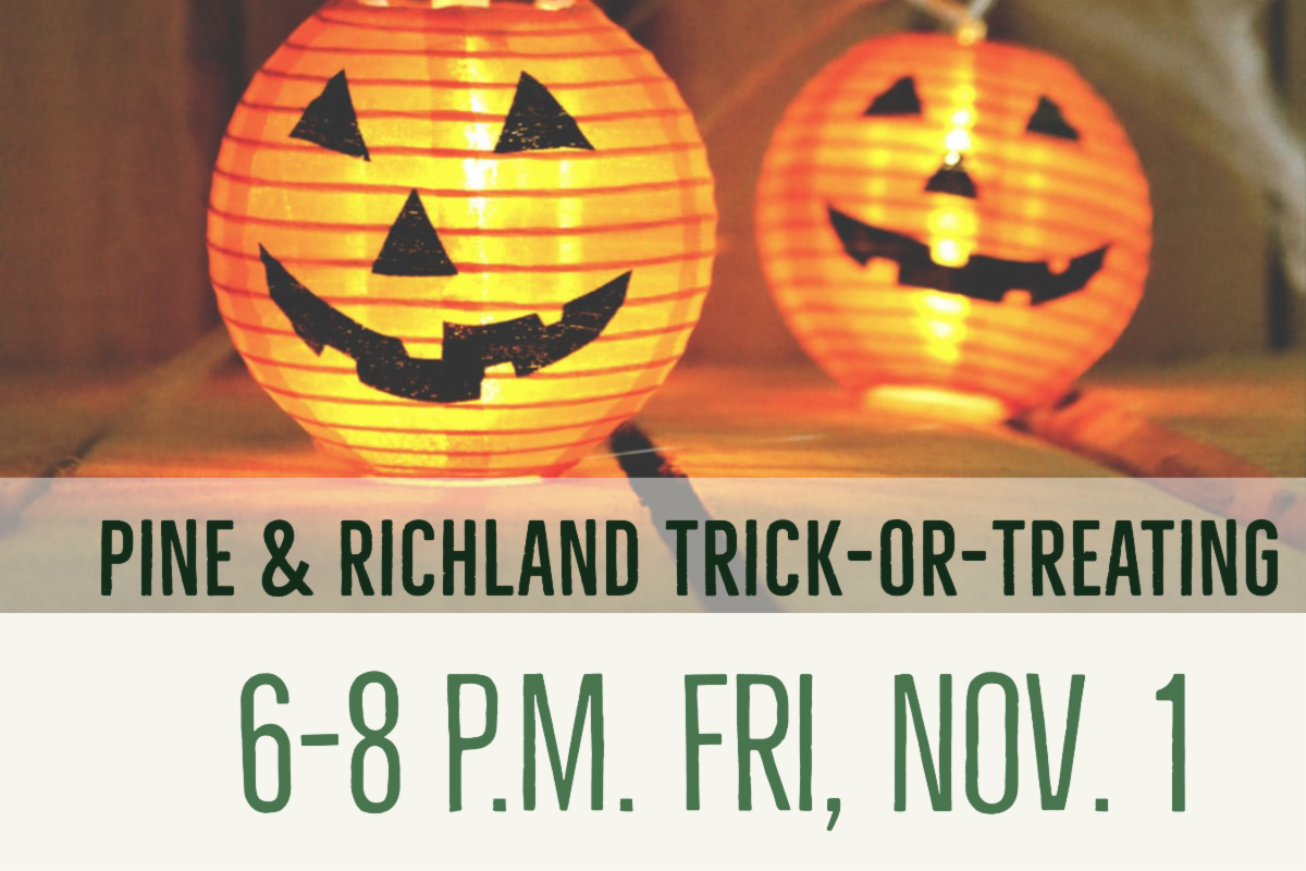 Pine Richland Trick-or-Treating 6-8 p.m. Fri, Nov. 1