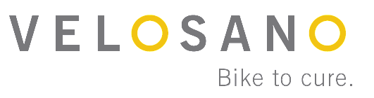 VeloSano bike to cure logo