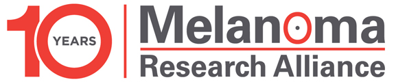 melanoma research alliance 10 year logo 2018