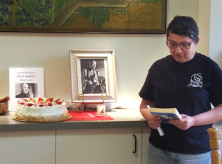 Anna Kong Reads Tribute to Issan Dorsey
