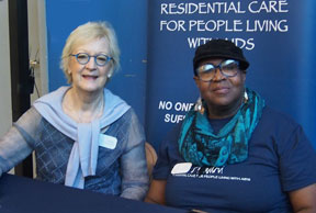 ED Anne Gimbel and Toni Newman at the OurTownSF event