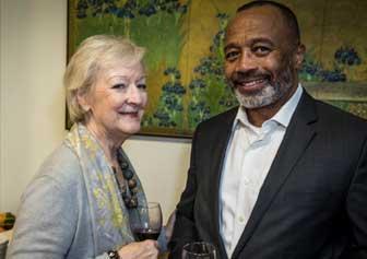 Anne Gimbel and James Long of Mission Bay Conference Center