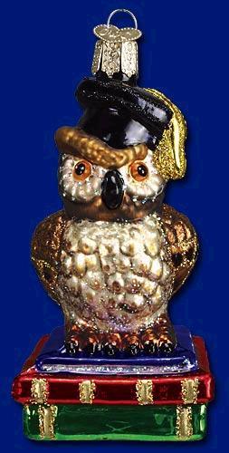 Old World Grad Owl