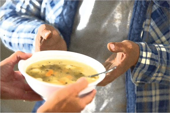 Find your local soup kitchen