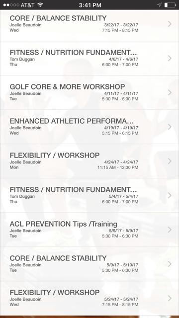 Free workshops and clinics