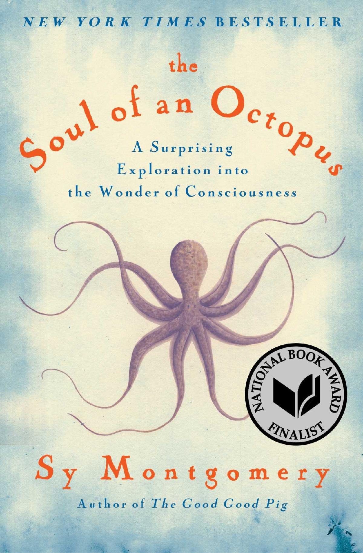 """Cover of """"The Soul of an Octopus"""""""