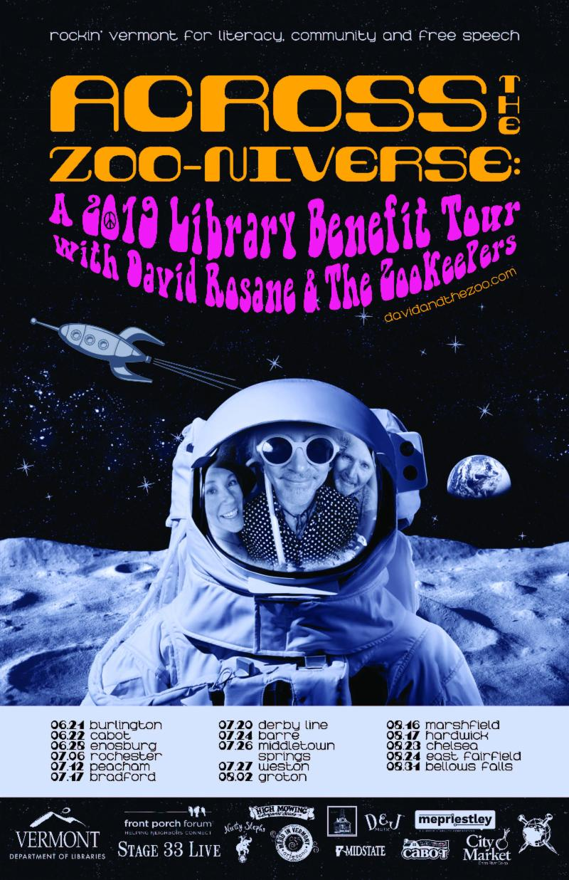 Across the Zoo-niverse tour poster
