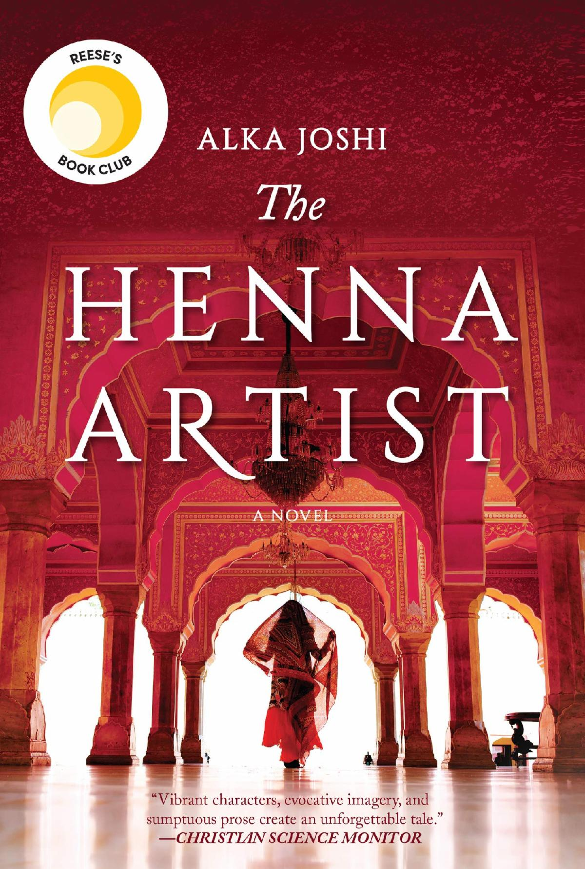 """Cover of """"The Henna Artist"""""""