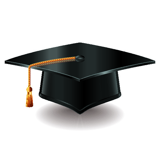 Clip art of graduation cap