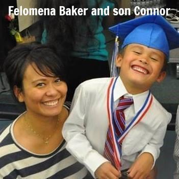 Felomena grace and Connor.