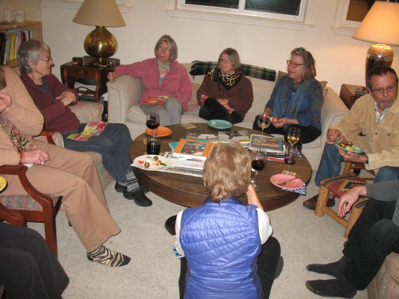 Social Hour in the sitting room
