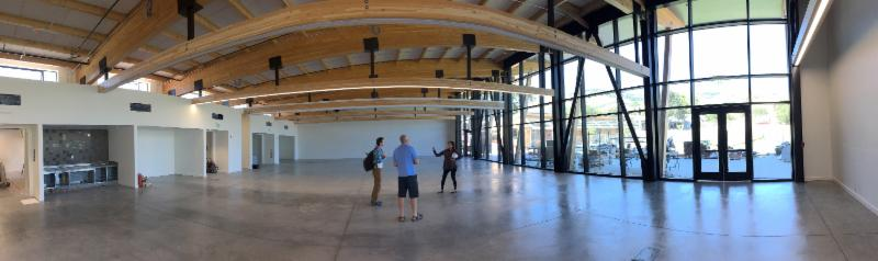 18,000 SF main hall; featuring a new kitchen, 3 classrooms and innovation space.