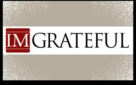 IMgrateful gratitude campaign