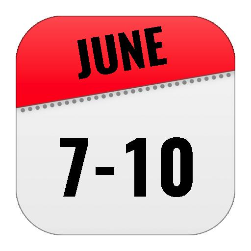 June 7-10