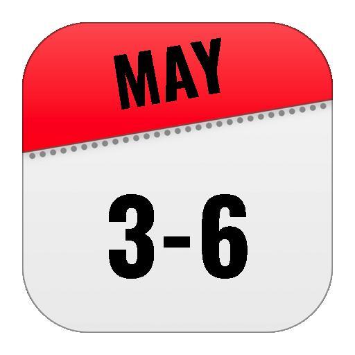 May 3-6