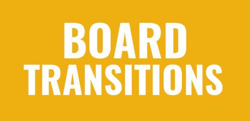 Board Transitions