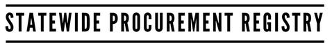 Statewide Procurement Registry