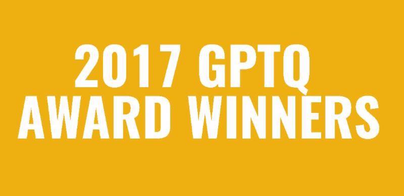 2017 GPTQ Award Winners
