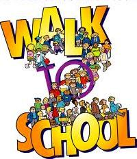kids walking school