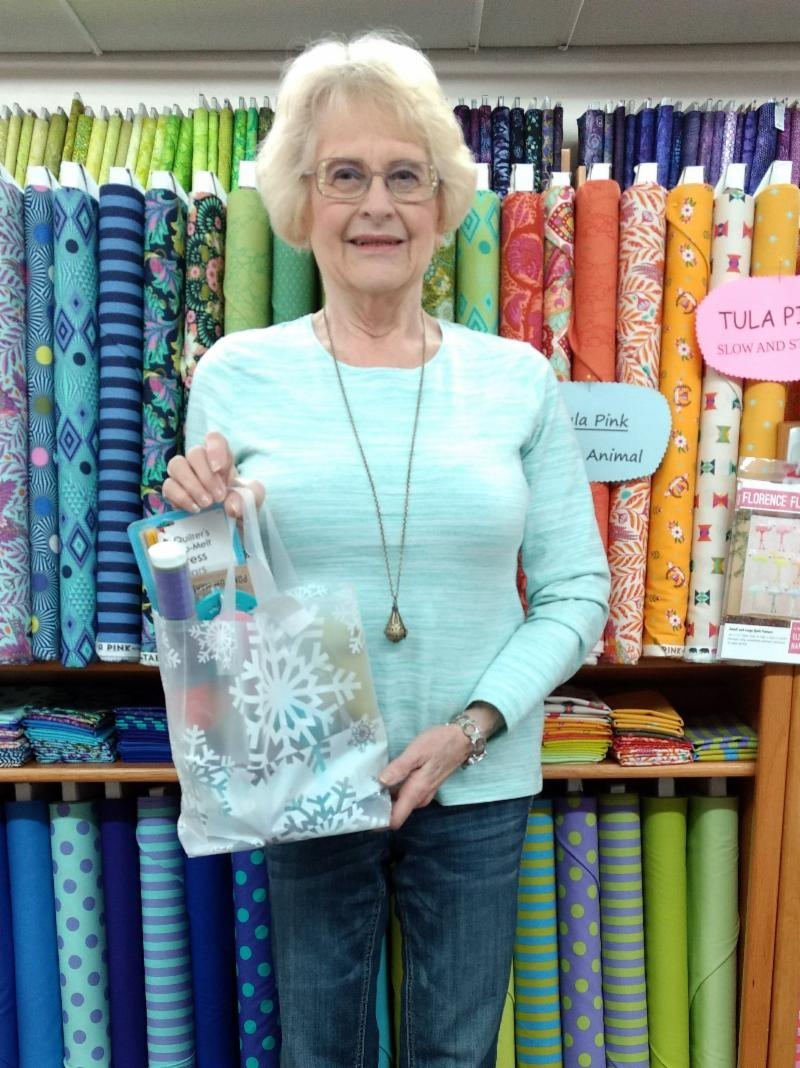 Marge Thomas_Shop Hop Winner