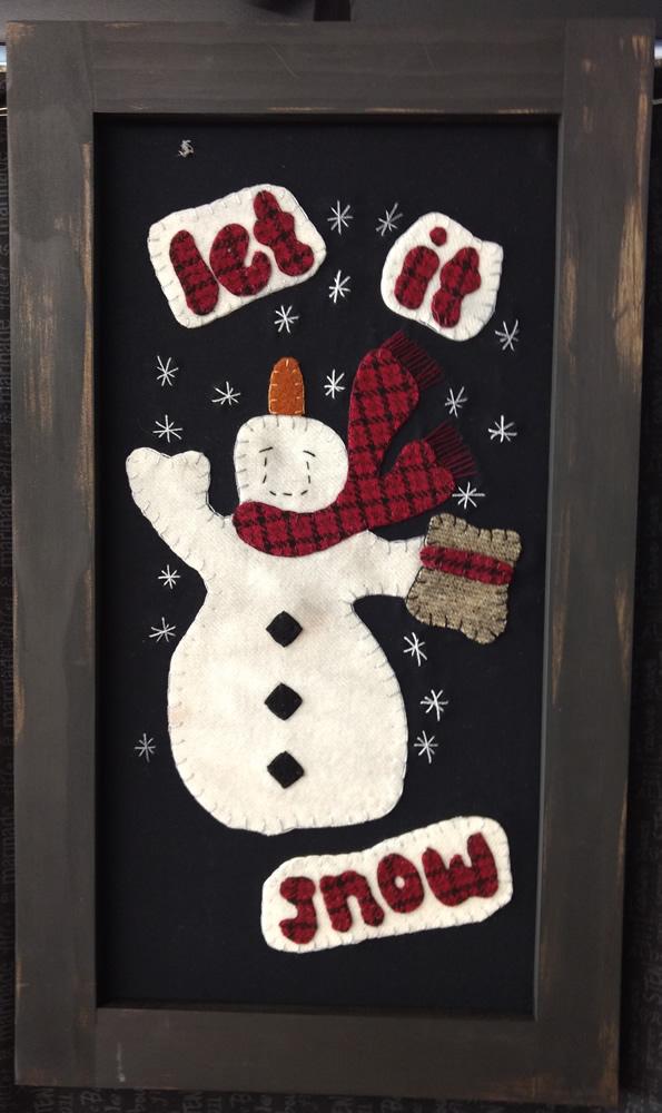 Let It Snow Wool Kit