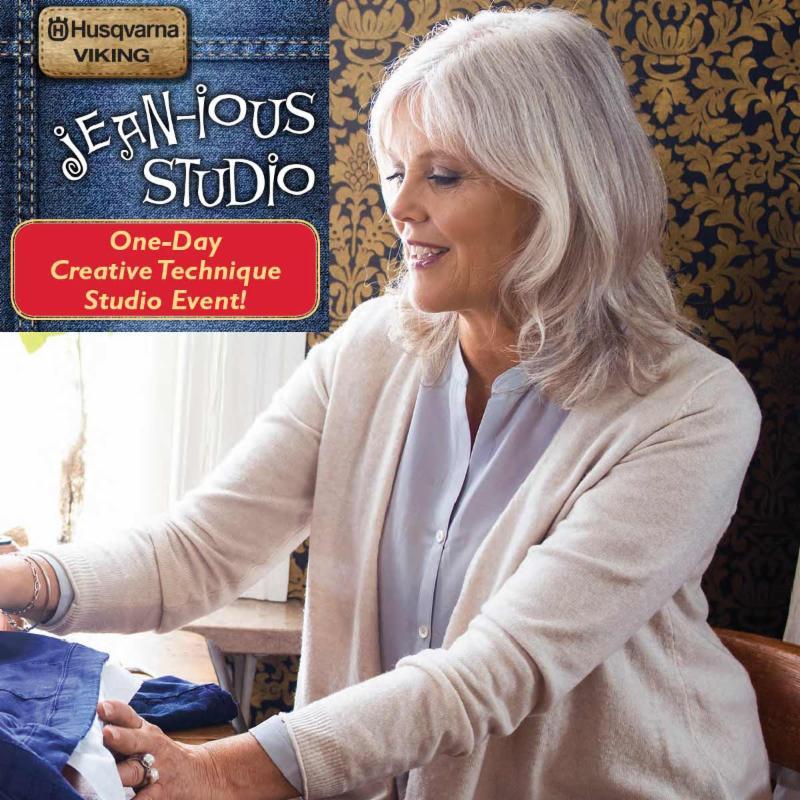Jean-ious Studio - Woman Sewing