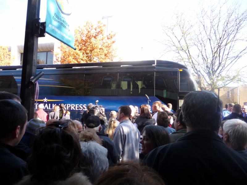John McCain in Tiffin October 30 2008