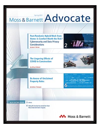 Moss & Barnett Spring 2021 Cover