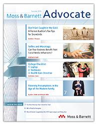 Moss & Barnett Summer 2019 Newsletter