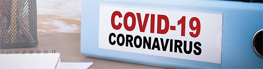 COVID-19 Resource Page Header A
