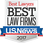 Best Law Firms 2017 Badge - 175