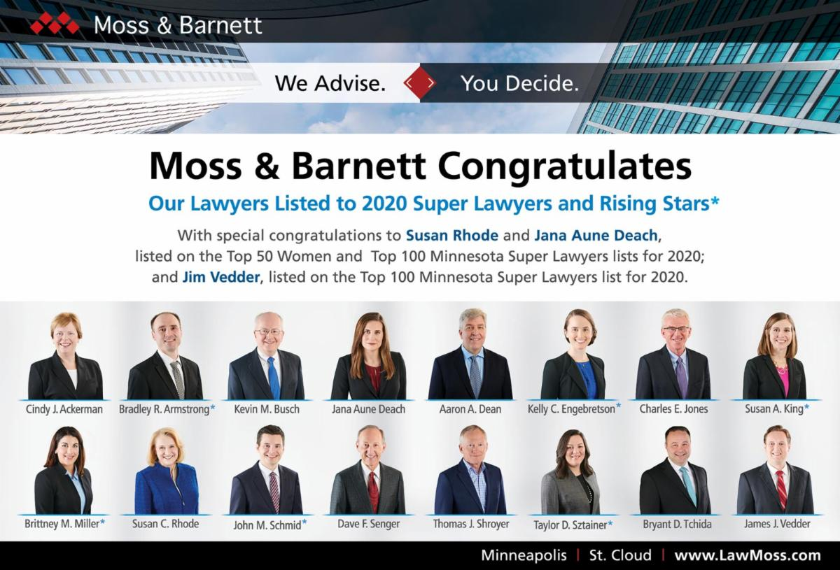 Super Lawyers Ad - Summer 2020